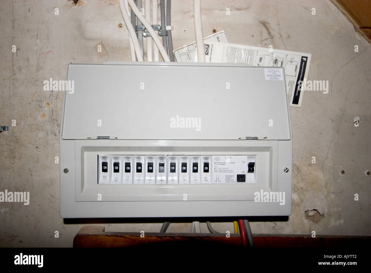 hight resolution of fusebox house stock photos fusebox house stock images alamy old home fuse box diagram house