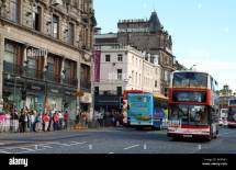 Lothian Buses Princes Street Edinburgh Stock