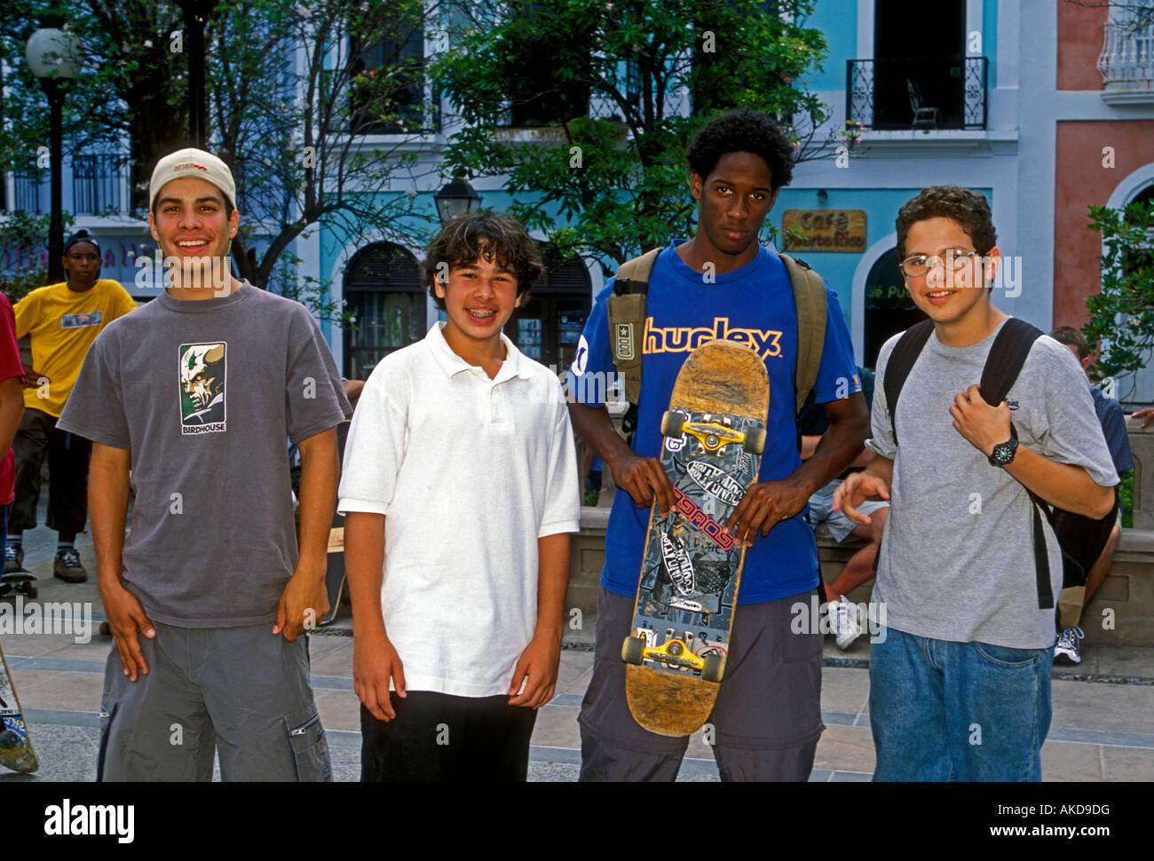 Puerto Ricans Puerto Rican Boys Teenage Boys Teenagers