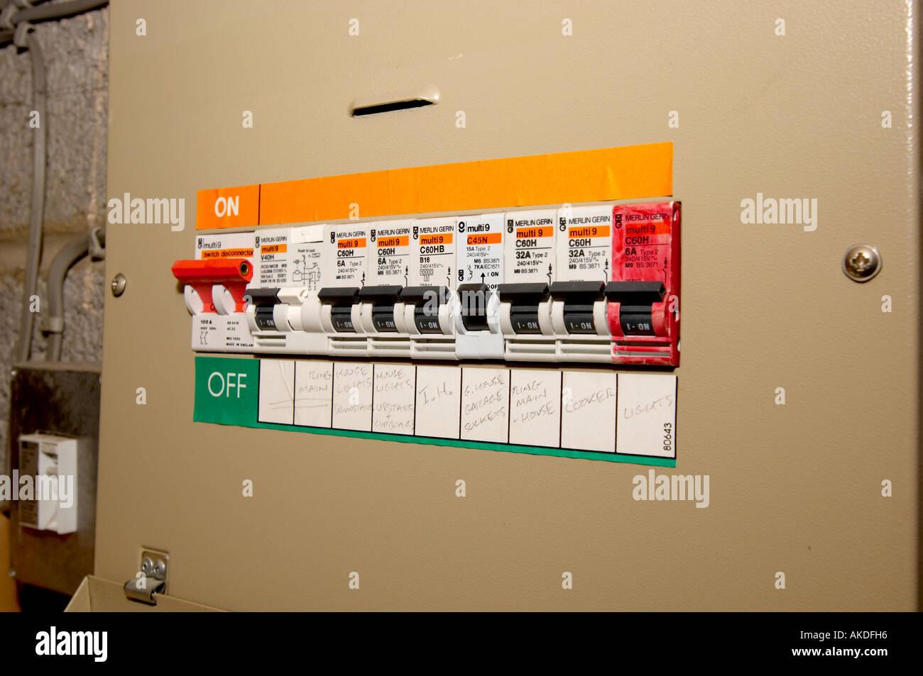 Circuit Breakers Circuit Breaker On Wiring Diagram Symbols Circuit