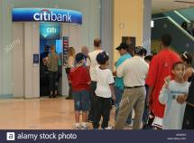 Citibank Atm Stock & - Alamy