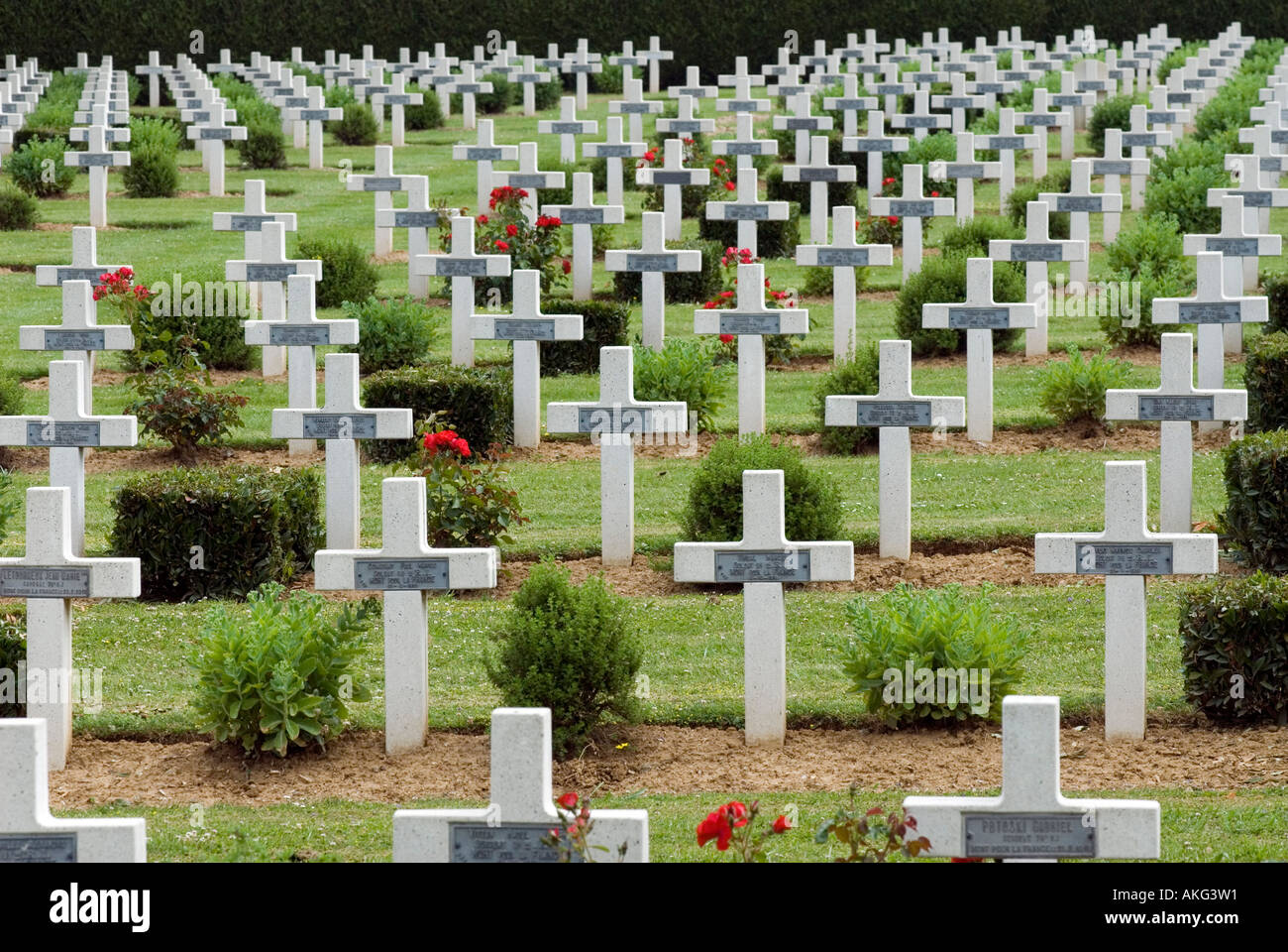 Rancourt Military Cemetery Stock Photos & Rancourt