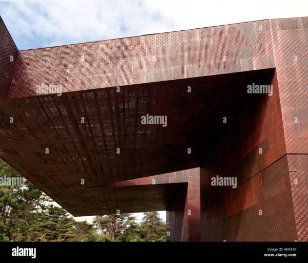 De Young Museum San Francisco California Architects Herzog