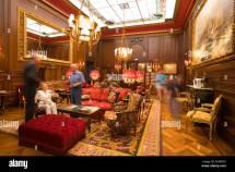 People Sitting Lobby Of Hotel Sacher Vienna