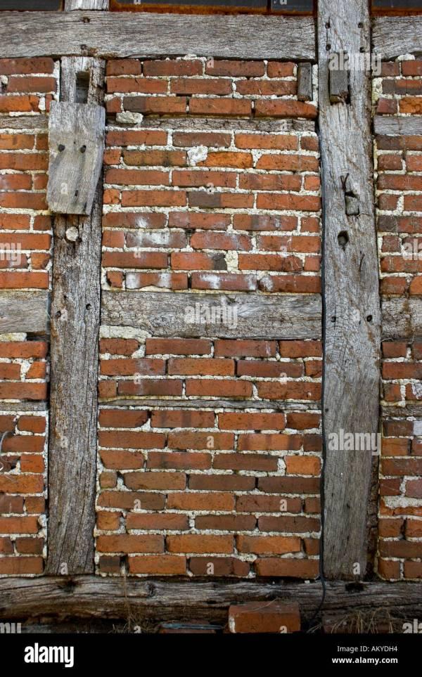 Brick Infill Stock & - Alamy