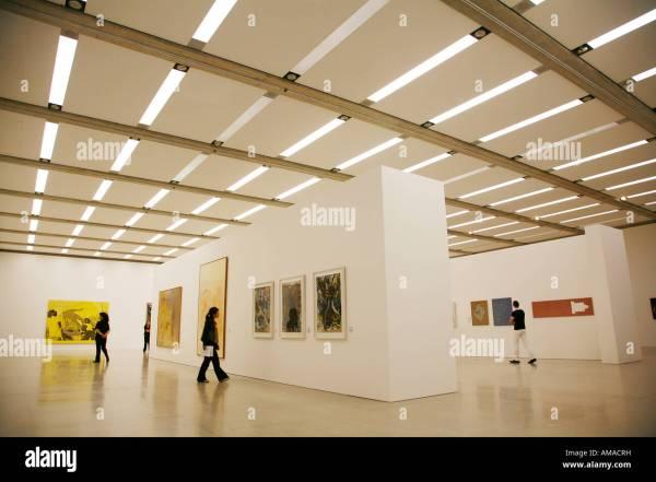 Mumok Museum Art Vienna Austria Stock &