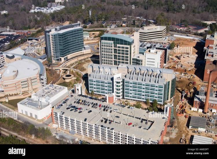 The CDC, Center for Disease Control in Atlanta, Georgia ...