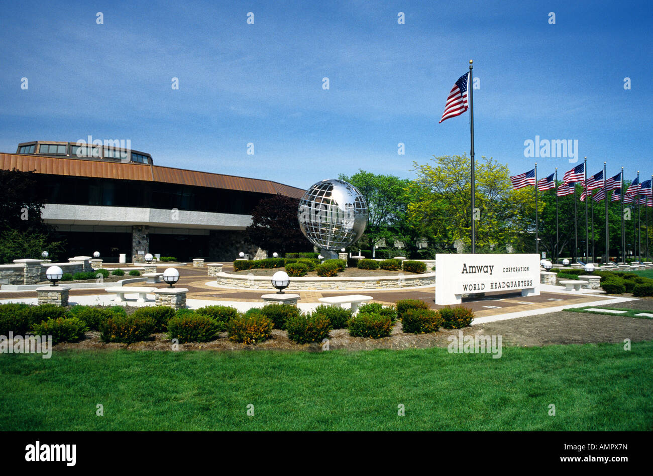 Amway Corporation World Headquarters in Ada, Michigan Stock Photo - Alamy