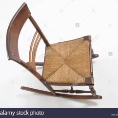 Old Fashioned Rocking Chairs Balance Ball Chair With Arms Style Stock Photo 2848430 Alamy
