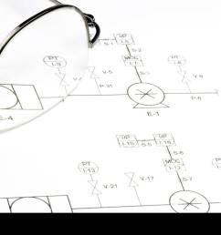 schematic circuit diagram and glasses stock image [ 1300 x 954 Pixel ]