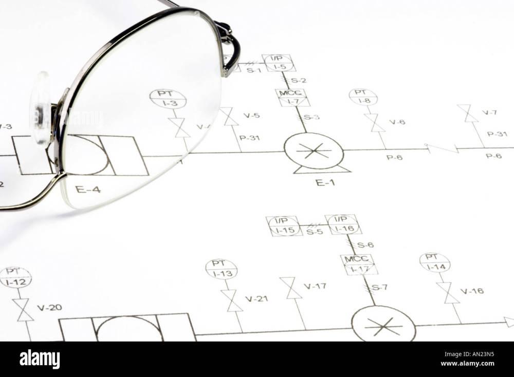 medium resolution of schematic circuit diagram and glasses stock image
