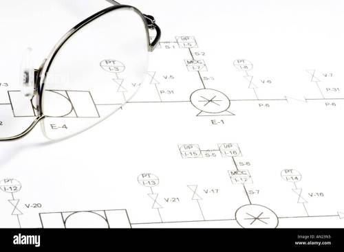 small resolution of schematic circuit diagram and glasses stock image