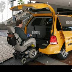 Wheelchair Cab Hoveround Power Chair Miami Florida Disability Resource Fair Taxi