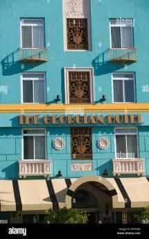 Georgian Santa Monica Stock &