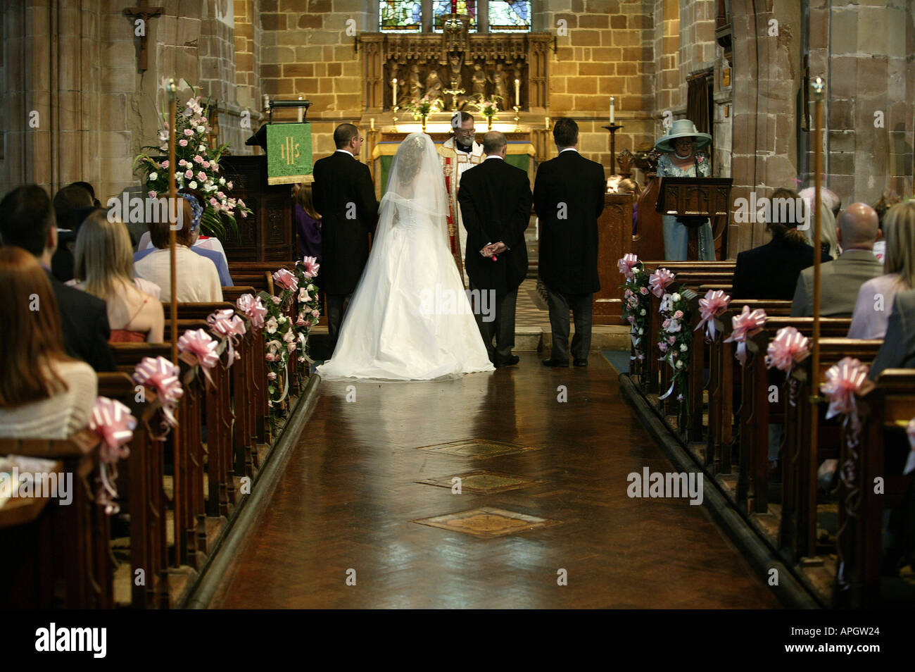 Christian Wedding High Resolution Stock Photography And Images Alamy