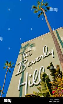 Beverly Hills Hotel Stock &