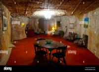 Underground living Coober Pedy Opal mining area outback ...