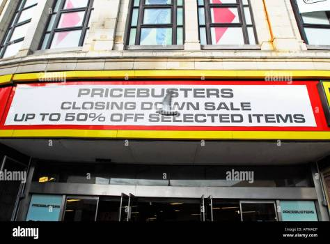 Pricebusters High Resolution Stock Photography and Images - Alamy