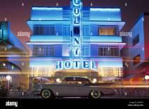 Usa 1950s Night Stock &