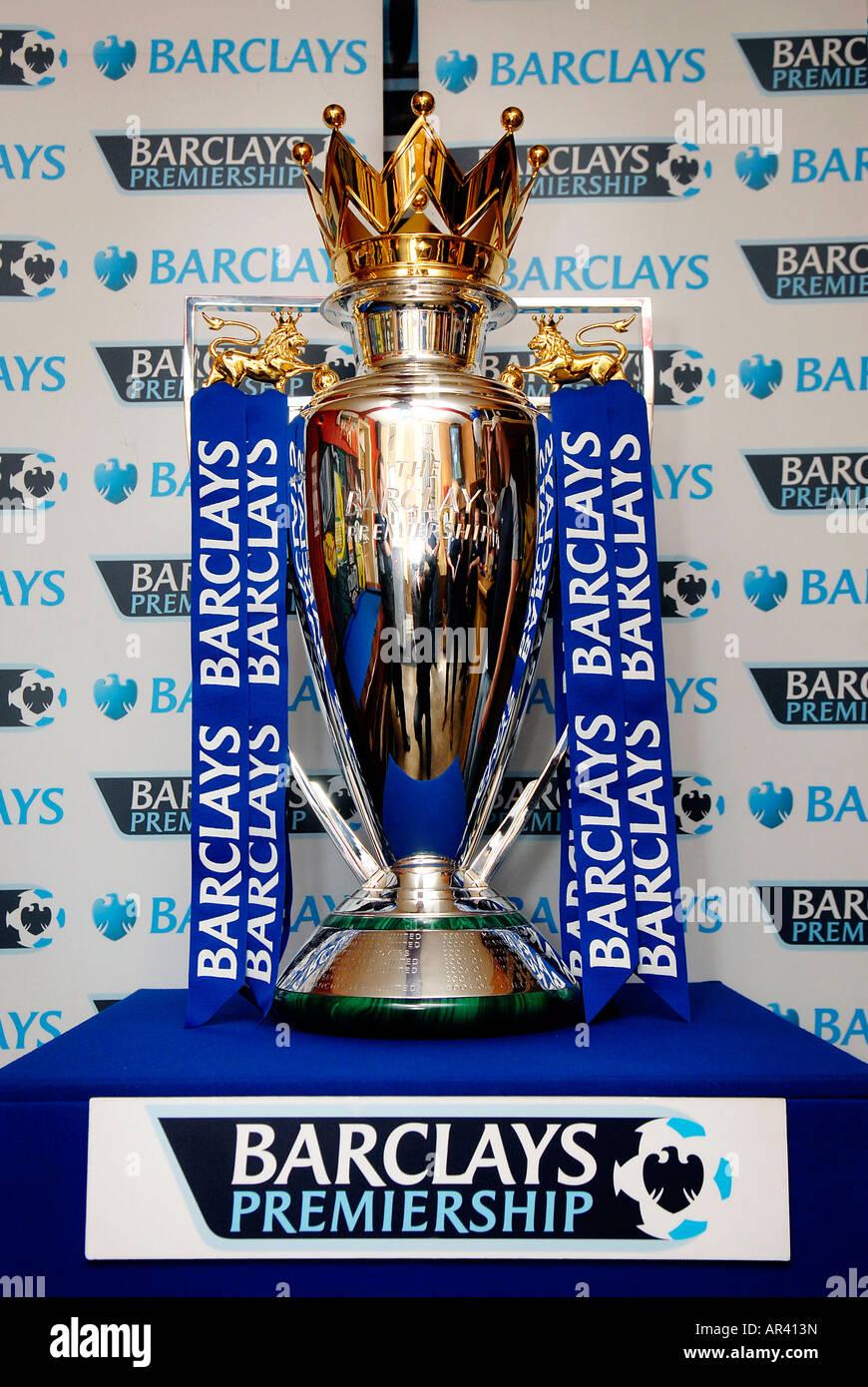 Premier League Trophy Stock Photos  Premier League Trophy