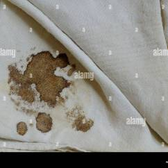 How To Remove Blood Stains From Linen Sofa Ebay Sofas For Sale Melbourne Handkerchief With Stain Stock Photo Royalty Free