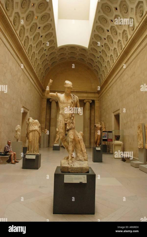 Metropolitan Museum Of Art York Greece Stock &