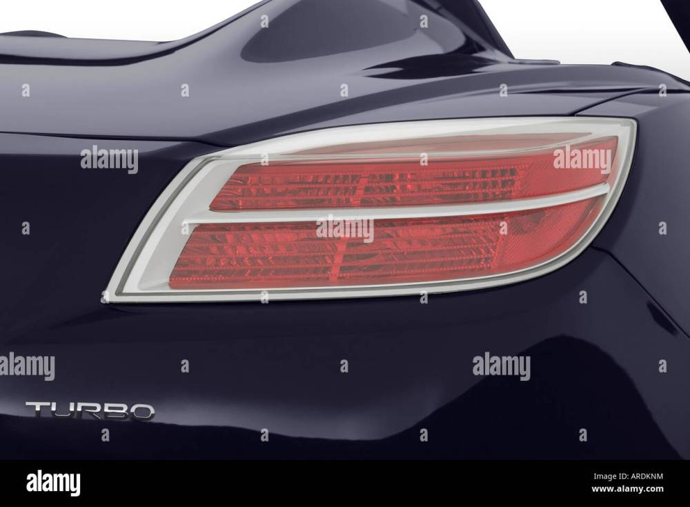 medium resolution of saturn red line in blue tail light stock image jpg 1300x956 saturn sky tail light replacement