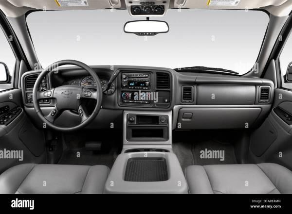2006 Chevrolet Tahoe Z71 In Silver - Dashboard Center