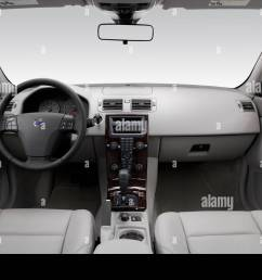 2006 volvo s40 2 4 in blue dashboard center console gear shifter view [ 1300 x 956 Pixel ]