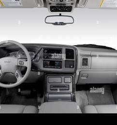 2006 gmc yukon xl 1500 denali in black dashboard center console gear shifter view [ 1300 x 956 Pixel ]