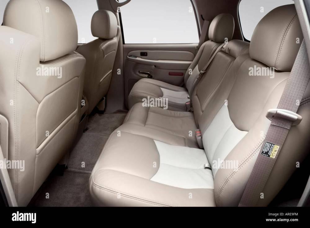medium resolution of 2006 gmc yukon denali in black rear seats