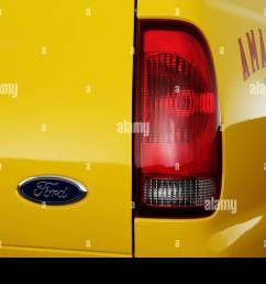 2006 ford f 350 sd lariat amarillo in yellow tail light stock image [ 1300 x 956 Pixel ]