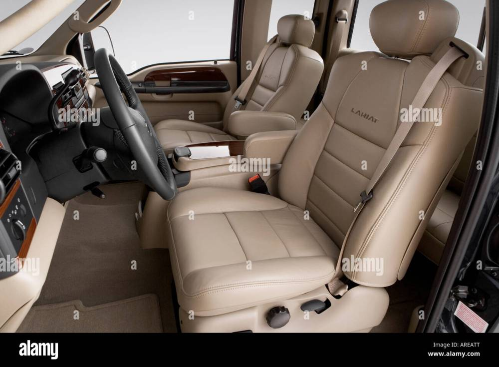 medium resolution of 2006 ford f 250 sd lariat in blue front seats