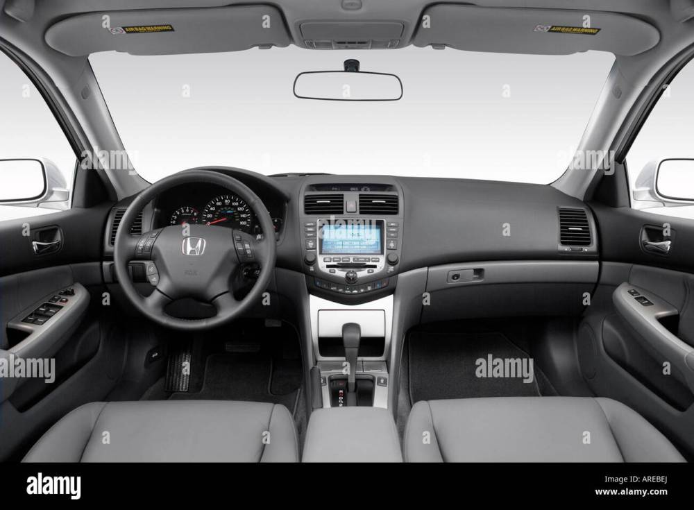 medium resolution of 2006 honda accord hybrid in silver dashboard center console gear shifter view