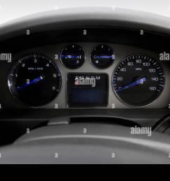 2007 cadillac escalade esv in black speedometer tachometer stock image [ 1300 x 956 Pixel ]