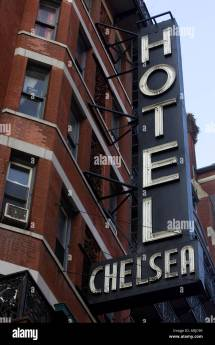 General View Of Hotel Chelsea 222 West 23rd Street