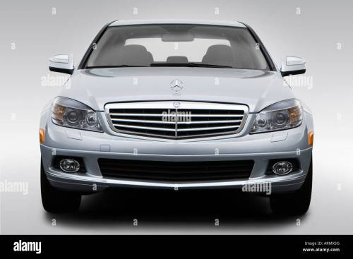 small resolution of 2008 mercedes benz c class c300 in silver low wide front