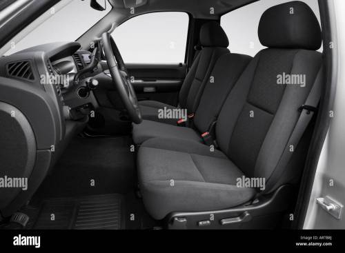 small resolution of 2008 gmc sierra 2500hd sle in silver front seats