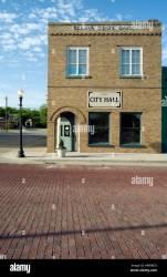 town building hall celina texas alamy