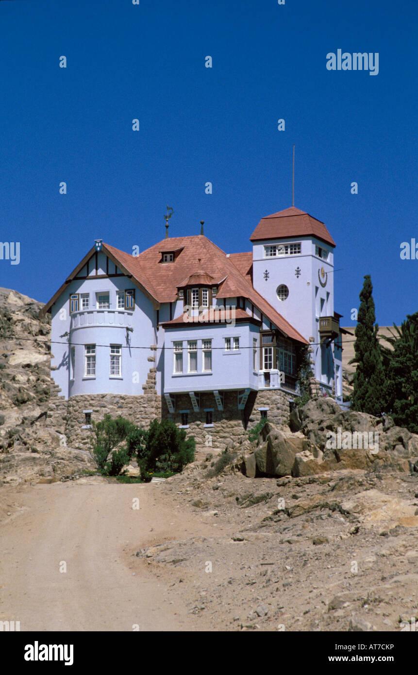 German Colonial House : german, colonial, house, Goerke, Beautiful, Colonial, German, House, Luderitz, Namibia, Stock, Photo, Alamy