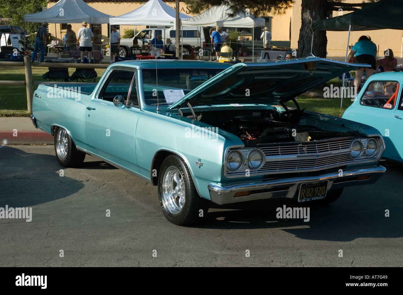 hight resolution of los angeles california car show antique customized 65 1965 chevy chevrolet el camino pickup truck