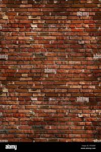 Dark red brick wall texture Stock Photo: 16284610 - Alamy