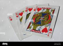 Playing Cards Jack Queen King Ace
