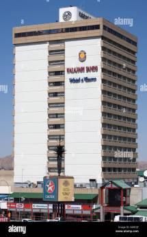 Namibia Windhoek Kalahari Sands Hotel And Casino Stock