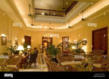 Interior Strand Hotel Yangon Colonial Luxury