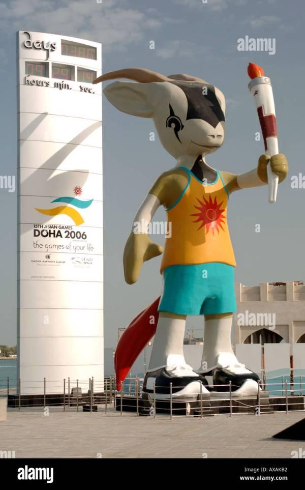 Doha Asian Games 2006 Mascot