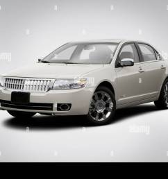 2008 lincoln mkz 3 5l v6 in beige front angle view [ 1300 x 956 Pixel ]