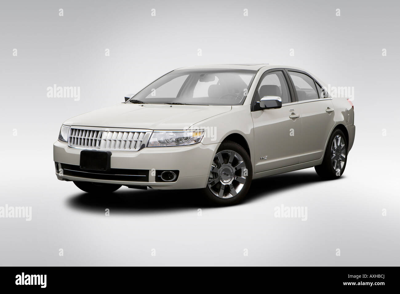 hight resolution of 2008 lincoln mkz 3 5l v6 in beige front angle view