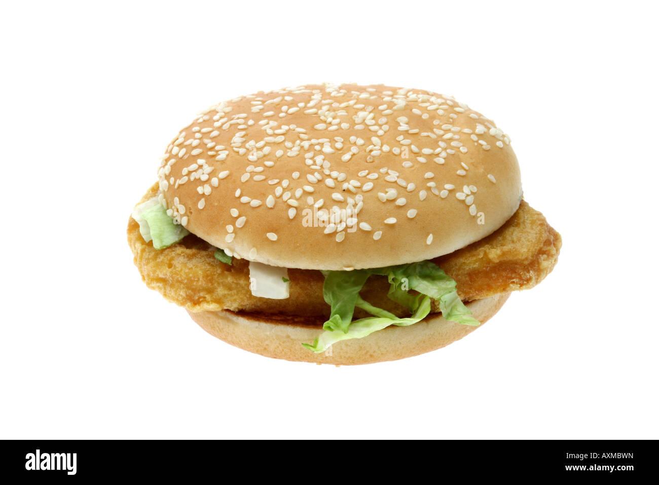mcchicken sandwich cut out