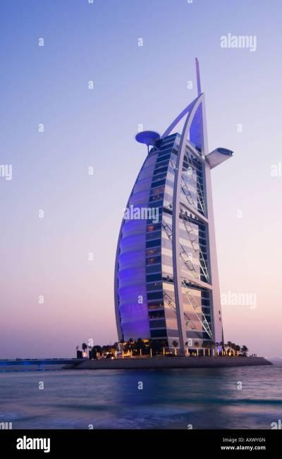 Night Low Angle View Dubai Stock Photos & Night Low Angle ...